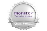 Monster.co.uk Official Partner Logo