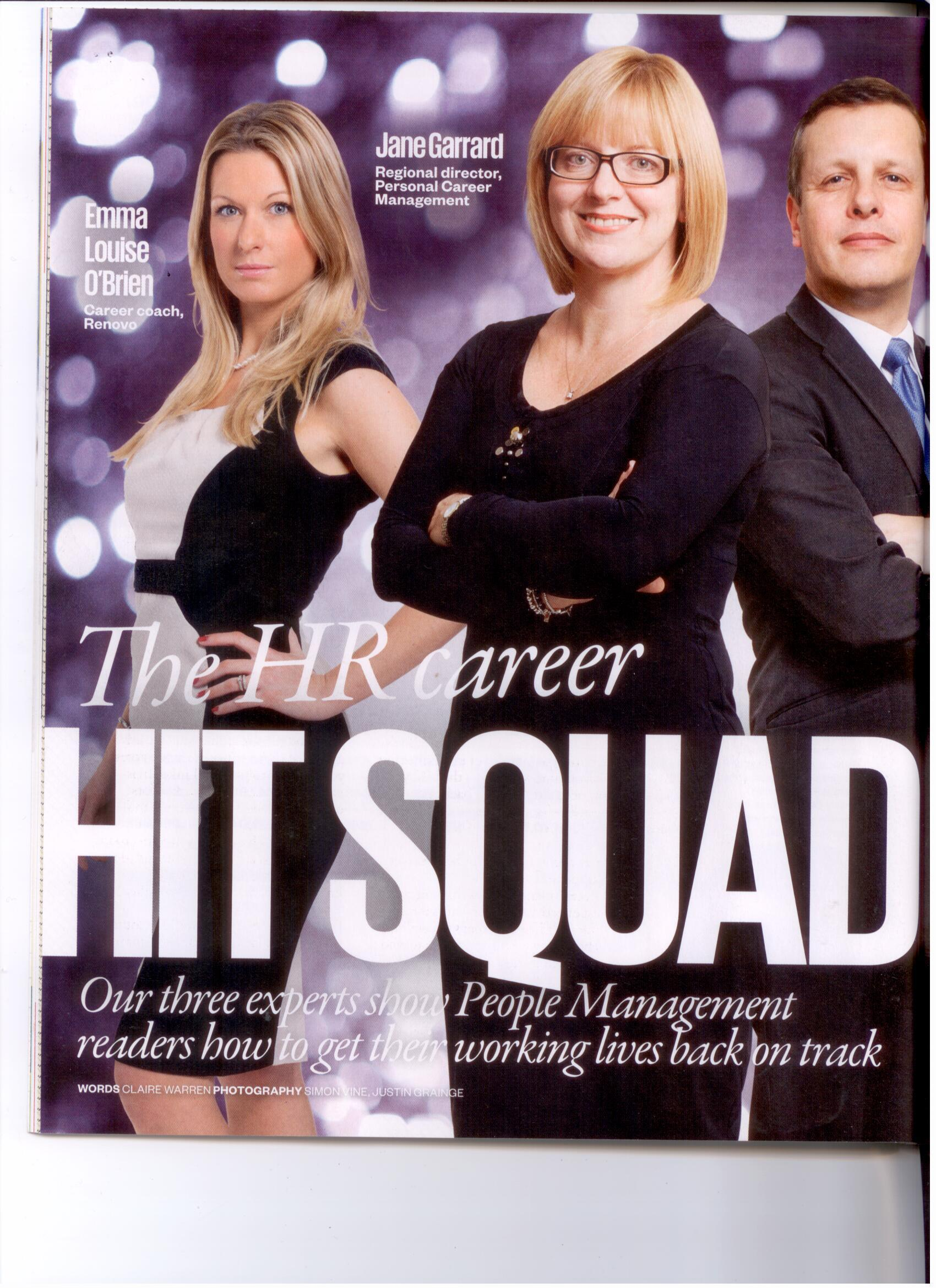 People Management: The HR career hit squad