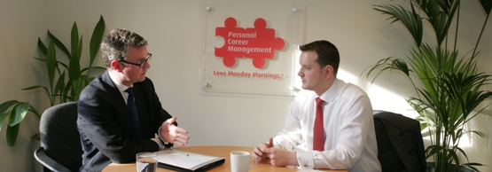 One to one meetings with a professional career coach
