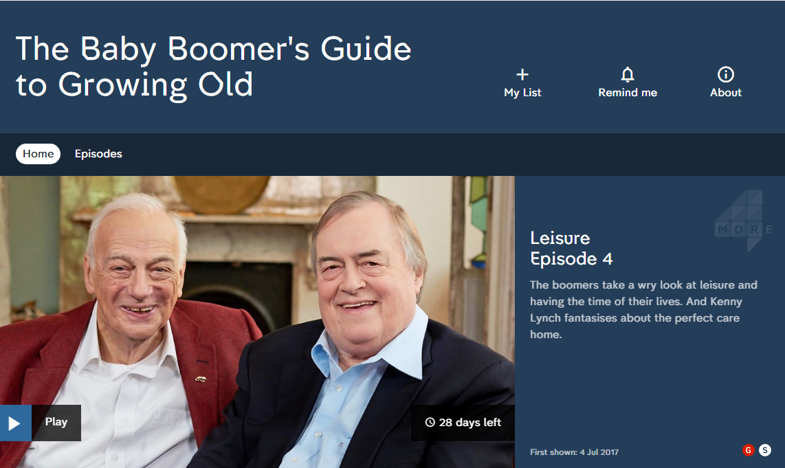 The Baby Boomer's Guide to Growing Old